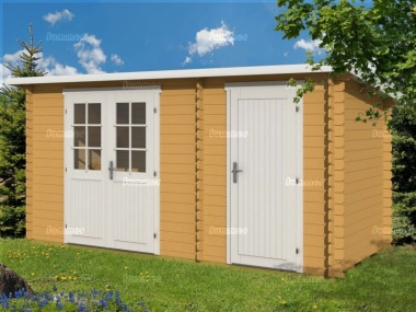 two room pent log cabin 346 shed and summerhouse