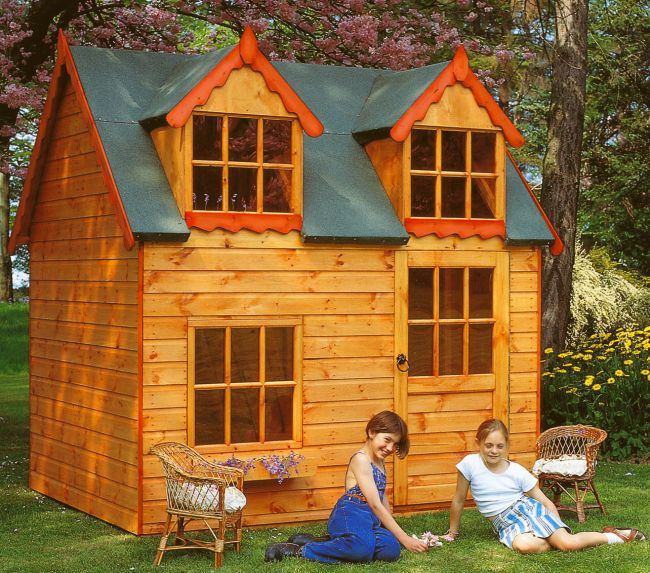2 storey playhouse plans uk