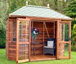 Bay Fronted Hipped Summerhouse 116 - Six Sided