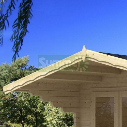 LOG CABINS xx - Roof options
