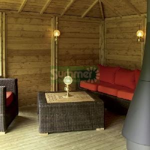 GAZEBOS - Design Options - side walls