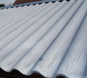 SHEDS - Cement fibre roof sheets