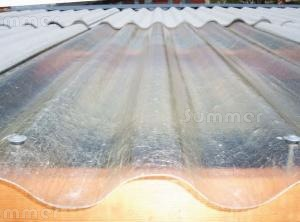 SHEDS - Translucent roof sheets