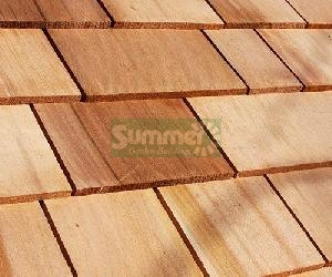LOG CABINS - Cedar shingle roof