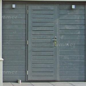 CONCRETE GARAGES, TIMBER GARAGES, STEEL GARAGES - Door and window options