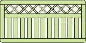 FENCING xx - Elevation drawing
