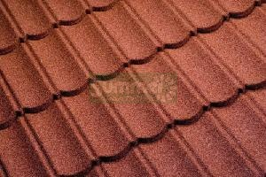 SHEDS - Granular steel roof tiles
