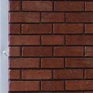 Brick front piers (16' and 18' wide only)