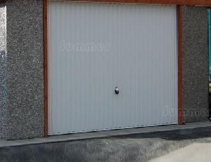 CONCRETE GARAGES, TIMBER GARAGES, STEEL GARAGES, CARPORTS - Up and over door position
