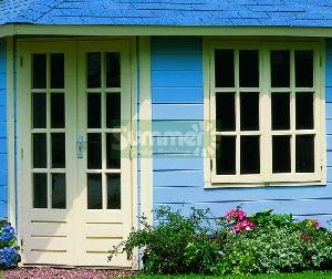 LOG CABINS xx - Additional Georgian doors and windows - double glazed