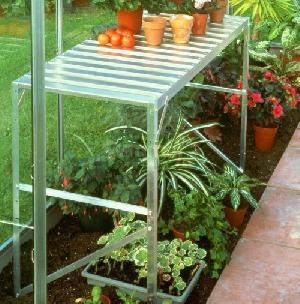 GREENHOUSES - Slatted staging