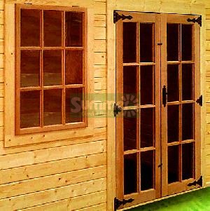 SUMMERHOUSES - Hardwood doors and windows