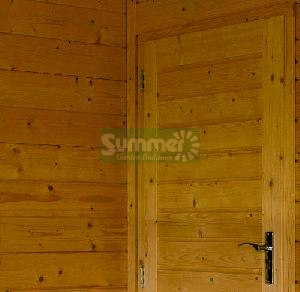 LOG CABINS xx - Internal partitions and internal doors