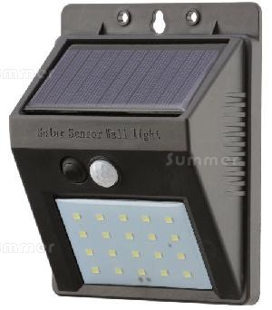 CONCRETE GARAGES, TIMBER GARAGES, STEEL GARAGES - Solar powered outside lights with motion sensors - no running costs