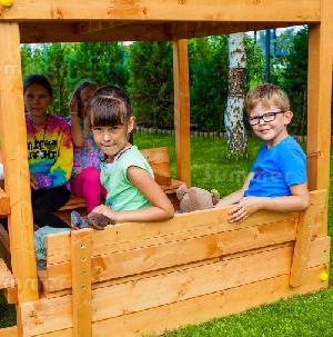 OUTDOOR PLAY - Sandpit cover