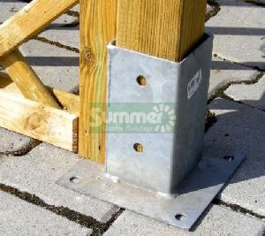 GARDEN FURNITURE xx - Post fixing brackets