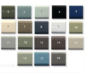 SHEDS xx - Paint finish - Full colour chart