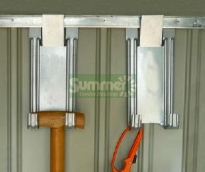 CONCRETE GARAGES, TIMBER GARAGES, STEEL GARAGES - Tool hooks