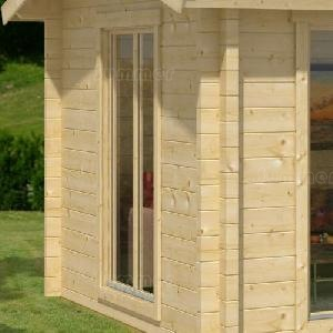 LOG CABINS - Additional doors and windows