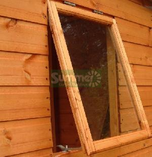 SHEDS - Opening window