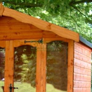 SHEDS xx - Decorative apex fascias