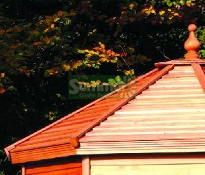 SUMMER HOUSES - Cedar slatted roof