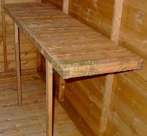 SHEDS - Workbenches - timber