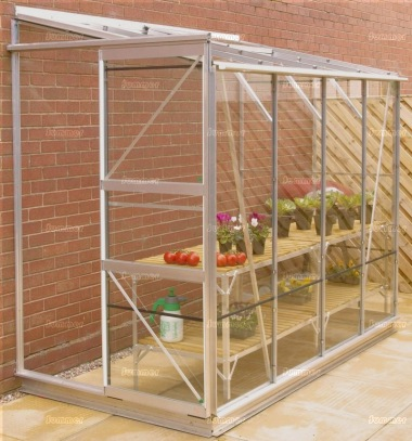 Aluminium Lean To Greenhouse 421