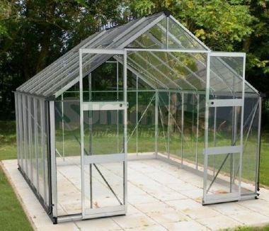 Aluminium Greenhouse 257 - Zero Threshold Doorway