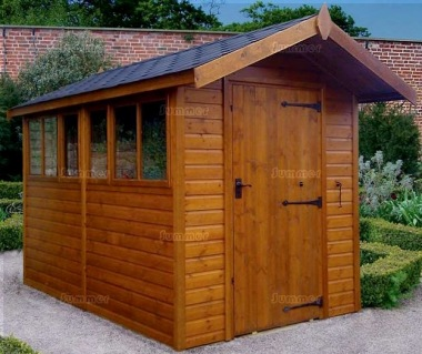 Apex Shed 114 - Shiplap, Heavy Duty Floor