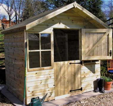 Shiplap Transverse Apex Shed 95 - All T and G
