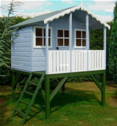 Platform Playhouse 85 - With Fully Enclosed Verandah