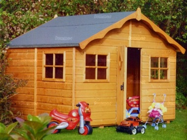 Childrens Playhouse 35 - Shiplap, Georgian