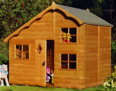 Two Storey Playhouse 36 - Upstairs to one Side
