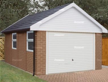 Concrete garage 184 for Single garage prices