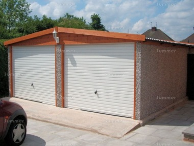 Spar Apex Double Concrete Garage 254