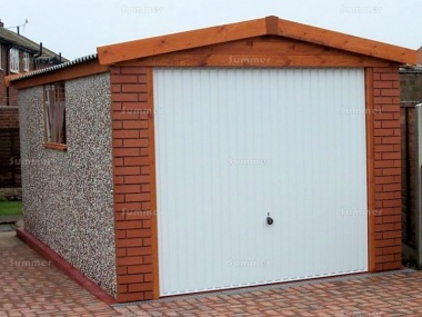 Spar Apex Concrete Garage 270 - Brick Posts