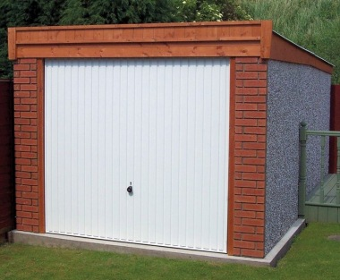 Spar Pent Concrete Garage 278 - Brick Posts