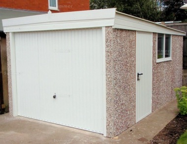 Spar Pent Concrete Garage 290 - PVCu Window and Fascias