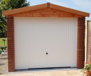 Brick Apex Concrete Garage 370