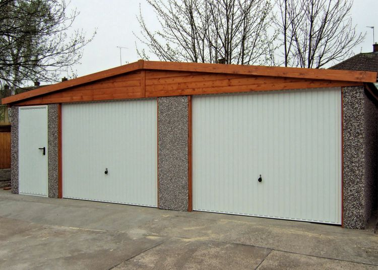 Spar Apex Double Concrete Garage 603 - Personnel Door