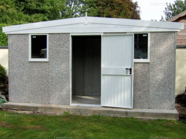 Spar Apex Concrete Shed 682 - PVCu Window and Fascias