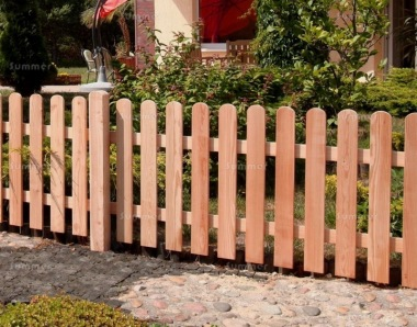 Fence Panel 494 - Larch, Planed, 18mm Thick Boards, 6 Types