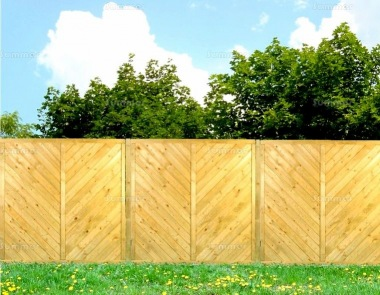 Fence Panel 514 - Planed Timber, 15mm T and G Boards, 3x2 Frame