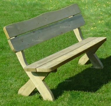 3 Seater Bench 212 - Pressure Treated