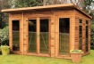 Pent Summerhouse 142 - Double Glazed, Low Level Glazing