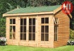 Side Door Apex Summerhouse 30 - Double Glazed