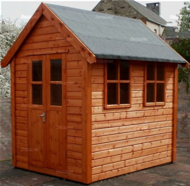 Shiplap Double Door Apex Shed 16 - Steeper Roof