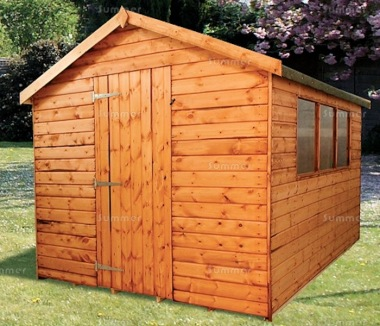 Shiplap Apex Shed 159 - Workshop, Thicker Boards