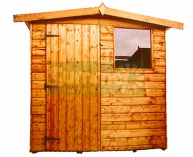 Shiplap Transverse Apex Shed 171 - All T and G